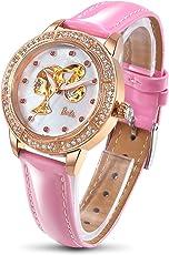 Barbie 芭比 美国品牌 摩登系列 自动机械女士手表 时尚镂空贝母镶钻表 W509PTAI11L.04A(供应商直送)