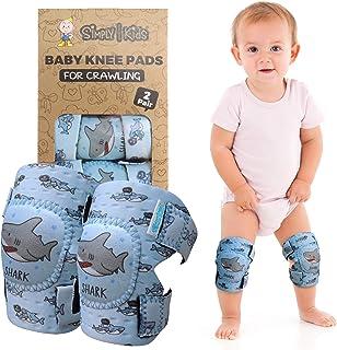 婴儿护膝 适合爬行(2 双) | 适合幼儿、婴儿、女孩、男孩