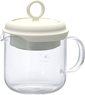 Hario PTM-35-OW Pull-Up Tea Maker, Off-White