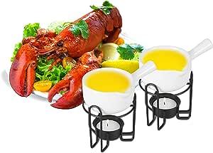 Artestia 陶瓷油加热器套装 White, Bowl with handle