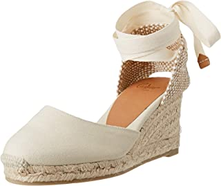 Castañer 女式 Carina/6/001 帆布鞋