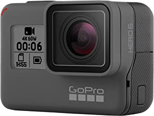 GoPro HERO6 Black 运动摄像机 4K60帧双倍性能 语音控制 防抖防水CHDHX-601-RW