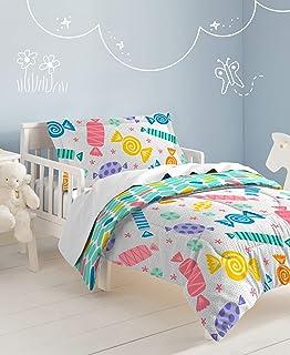 Dream FACTORY 棉被套装 白色 幼儿 2A86280JWT