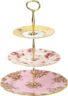 Royal Albert 100 Years 3 层蛋糕座