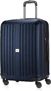 HAUPTSTADTKOFFER - X-Berg - 手提箱内手提箱笔记本电脑包 Cabin Bag Hardside Spinner Trolley 4 轮,TSA,55 cm,42 升,深蓝色哑光 Darkblue Mat Darkblue Mat
