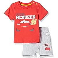 Disney 迪士尼童装 男童 短袖套装 KFC8M1TPBB3908RR