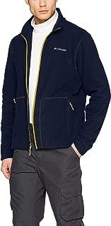 Columbia 絨毛夾克帶全長拉鏈,適合男士,Fast Trek Light 全拉鏈毛絨外套,聚酯超細搖粒絨材質