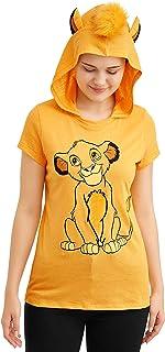 Disney 狮子王青少年 Simba 连帽 T 恤