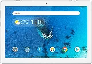 Lenovo 联想 Tab M10 25,5厘米(10,1英寸高清 IPS 触屏)平板电脑(Qualcomm Xperion 429 四核,2 GB 内存,16 GB eMCP,Wi-Fi,Android 9)白色
