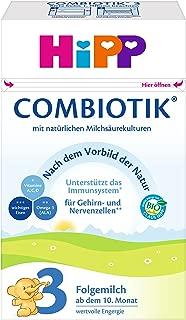 HiPP 喜宝 Bio Combiotik后续营养奶粉 适合10月龄以上的宝宝 4件装(4 x 600 g)