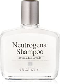 Neutrogena 露得清 Shampoo, Anti-Residue Formula, 6 Fluid Ounce (Pack of 6)