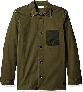 Calvin Klein 男士 Infinite Cool 條紋系扣襯衫