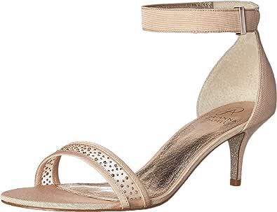 Adrianna Papell 女士 Avril Dress 凉鞋 腮红 10 M US