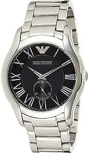 Emporio Armani Men's AR11086 Silver Stainless-Steel Japanese Quartz Fashion Watch