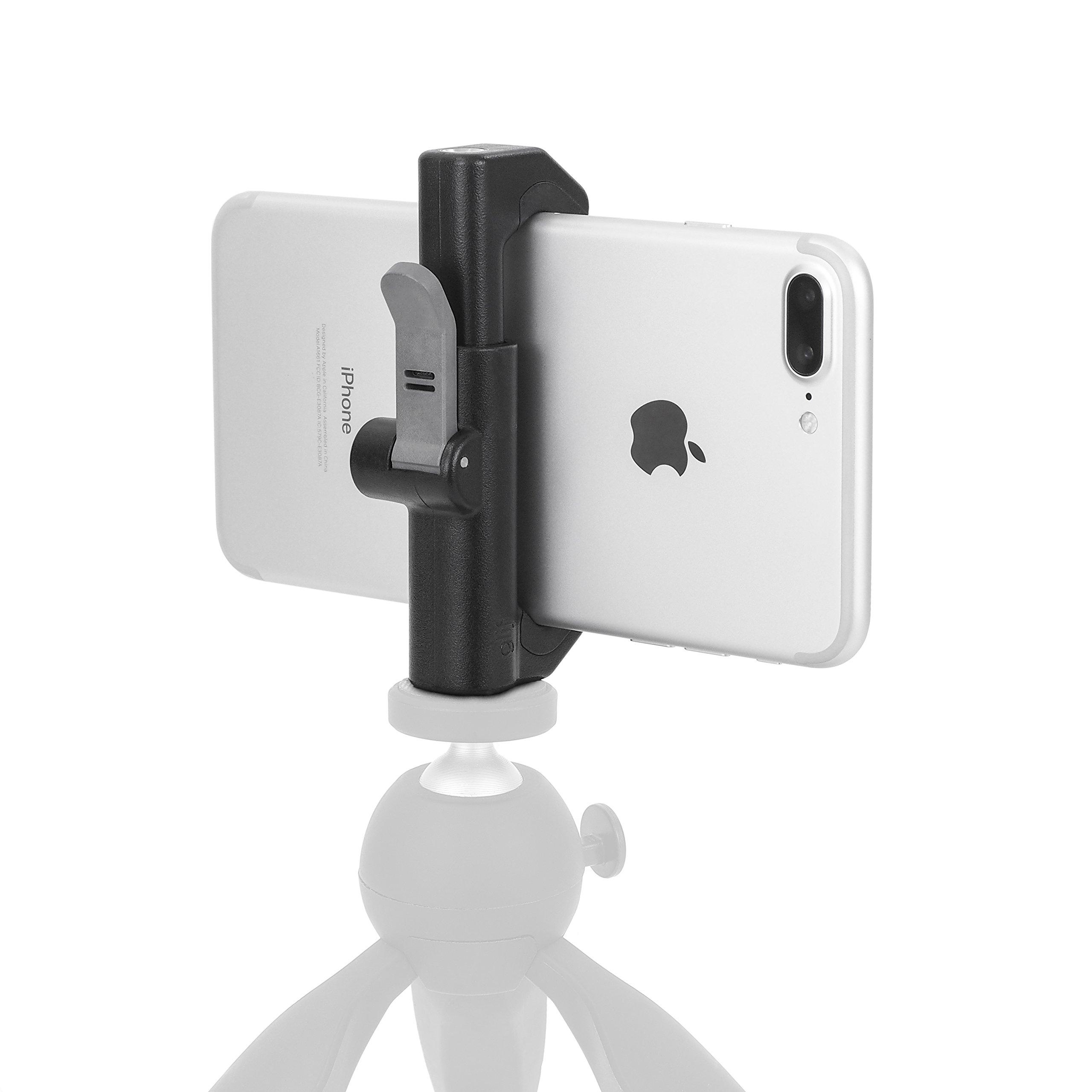 GLIF  - スマートフォンクイックリリース三脚スタンド(AppleのiPhone、サムスンギャラクシー、Googleのピクセルなど)。一般的な、すべてのデバイス、または縦方向のビューのために。
