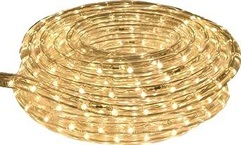 American Lighting LR-LED-UWW-15 Commercial-Grade LED Rope Lighting Kit,Ultra White, 15-Foot