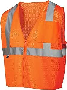 pyramex lumen X CLASS 2FLAME retardant *背心带拉链 橙色 XXXX-Large
