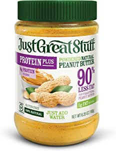 Betty Lou's Protein Plus Powdered Peanut Butter, 6.35 Ounce