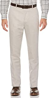 Perry Ellis 男士标准亚麻西裤 淡色(Natural Linen) 30W x 32L
