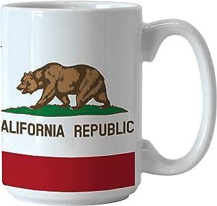 Boelter Brands 亚利桑那州旗升华咖啡杯,425.24g 白色 15盎司 339847
