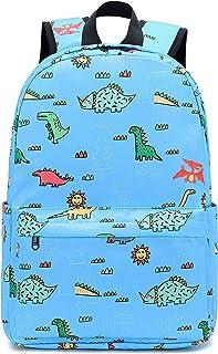 小学小学学生书包儿童背包 E0083-Light Blue 11.8x14.9x4.7inch