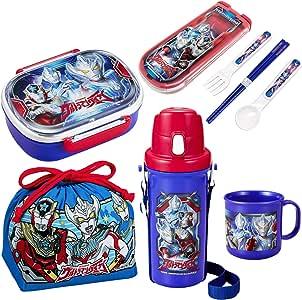 便当盒 午餐 5件套 日本制造 ウルトラマンルーブ ランチ 5点セット 972546