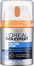 L'Oréal Men Expert抗皱面霜,年轻焕活,即时保湿效果,针对细小皱纹(50毫升)