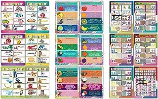 儿童教育学习海报系列(18 件装) Children Learning Posters (18-Pack) 18-sheets 737713772312