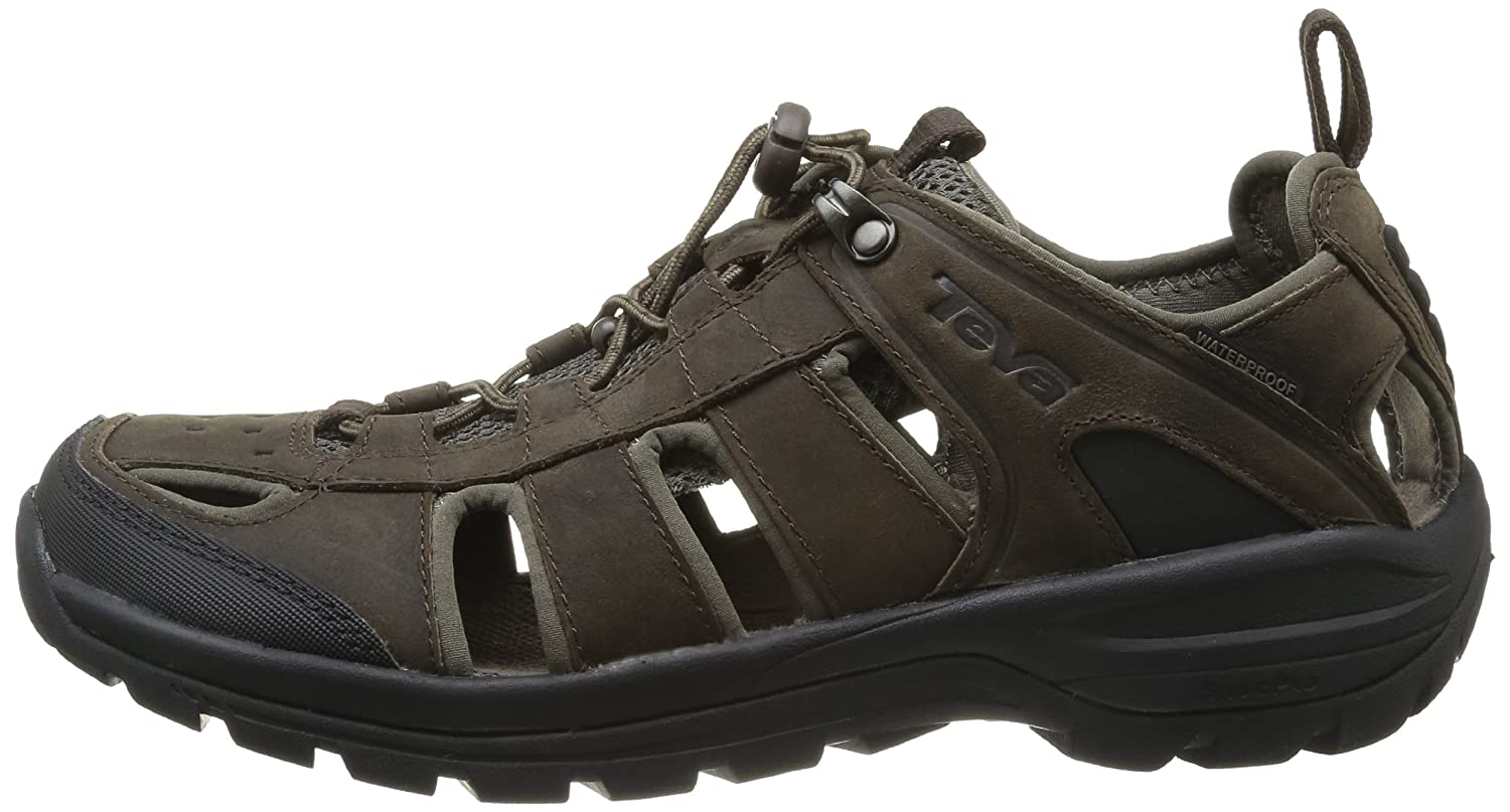 666d619dbacc  Teva  Teva图片Teva价格Teva Kimtah Womens Dark Brown Leather Matt Sandal - 亚马逊中国