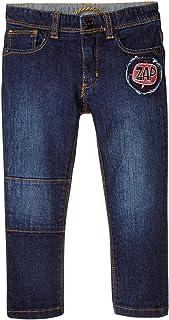 Little Marc Jacobs 男婴牛仔长裤带花式贴片