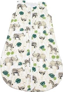 Bebe au Lait 丛林平纹细布睡袋,6-12个月,*,均码