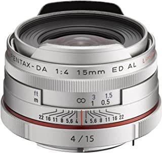 Pentax 宾得 HD PENTAX-DA 15mmF4ED AL Limited SILVER W/C 防水镜头(银色)
