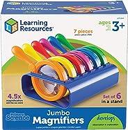 Learning Resources 基础科学大容量放大镜,带支架