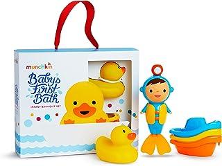 Munchkin 宝宝*个洗澡玩具,3 件套装