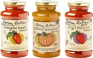 Cucina Antica   Pasta Sauce Variety Pack   24oz (Pack of 3)