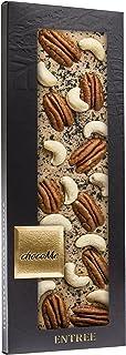 chocoMe Entrée Blonde巧克力 黑海盐山核桃和腰果,110克