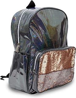 Moore 防水15英寸(约38.1厘米)男孩女孩背包,完美尺寸学校旅行公文包,适合书籍和午餐。