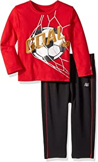 New Balance 男童幼儿长袖上衣和裤子套装