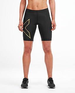 2XU 女士 MCS 跑步压缩短裤 Wa5334b 紧身裤