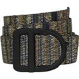 Bison Designs Delta 腰带 - by - Light Duty 38mm - 黑色扣 - L,灰褐色,*大可达 106.68cm