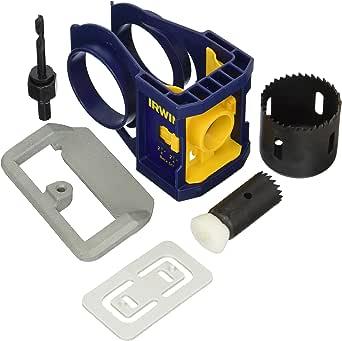 Irwin Industrial Tool 3111001 Carbon Door Lock Installation Kit 蓝色 1