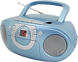 Soundmaster scd5100收音机磁带播放机, 带 CD 播放器, 不同颜色 蓝色