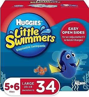 HUGGIES 好奇 Little Swimmers 游泳纸尿裤, 尺寸5-6 大号, 17件, 2包装