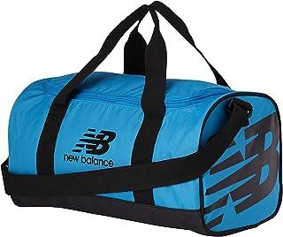 New Balance 男士和女士小号运动包 600D 涤纶平纹编织,视觉蓝