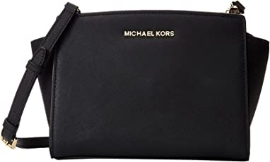 Michael Kors 迈克·科尔斯 女式 塞尔玛MD信封包 30T3GLMM2L 001 黑色 均码