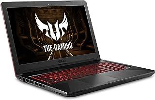 ASUS 华硕 FX504轻薄TUF游戏笔记本电脑,15.6英寸(396.23毫米)全高清,第8代英特尔酷睿i7-8750H处理器,GeForce GTX 1050 Ti,8GB DDR4,256GB M.2固态硬盘,千兆位WiFi,Windows 10 - FX504GE-ES72