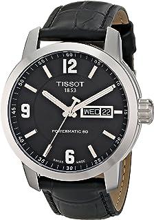 Tissot 男式 T0554301605700 PRC 200 模拟显示黑色瑞士机械表