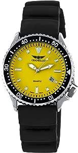 gianello 男式手表(型号: gnl7702yl )