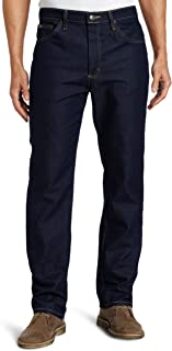Lee 男士标准修身直筒牛仔裤 Quartz Stone 30W x 30L Regular Fit Straight Leg Jeans