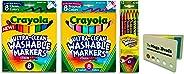 Crayola 可水洗热带色彩锥形笔尖 Bundle